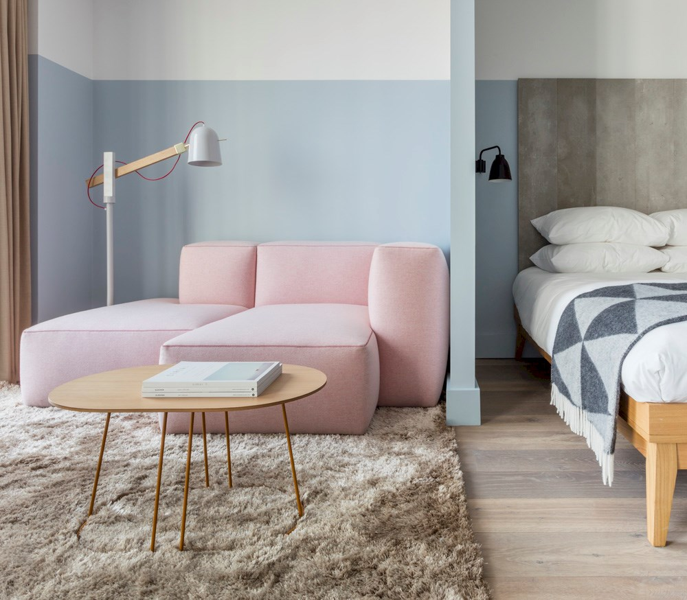 Leman Locke is a design-led aparthotel for those who want to challenge the status quo, and experience the unique and authentic. Designed for travellers for whom a bed and shower in a shoebox isn't enough, it has been branded 'The most accessible hipster aparthotel in Shoreditch.'  The beautiful pastel palette, millennial pink and soft neutrals make it an instant Instagram hit. The gorgeous Scandi inspired furniture also means it's bang on trend.