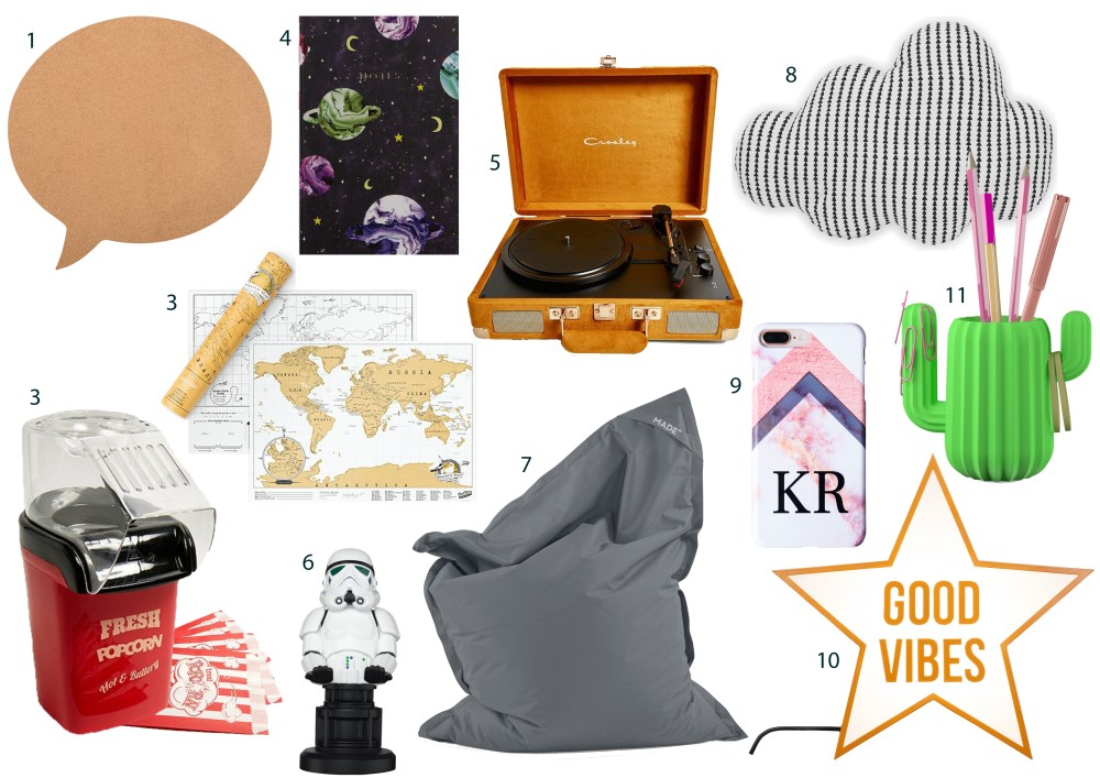 Xmas gift guide for teens 2018