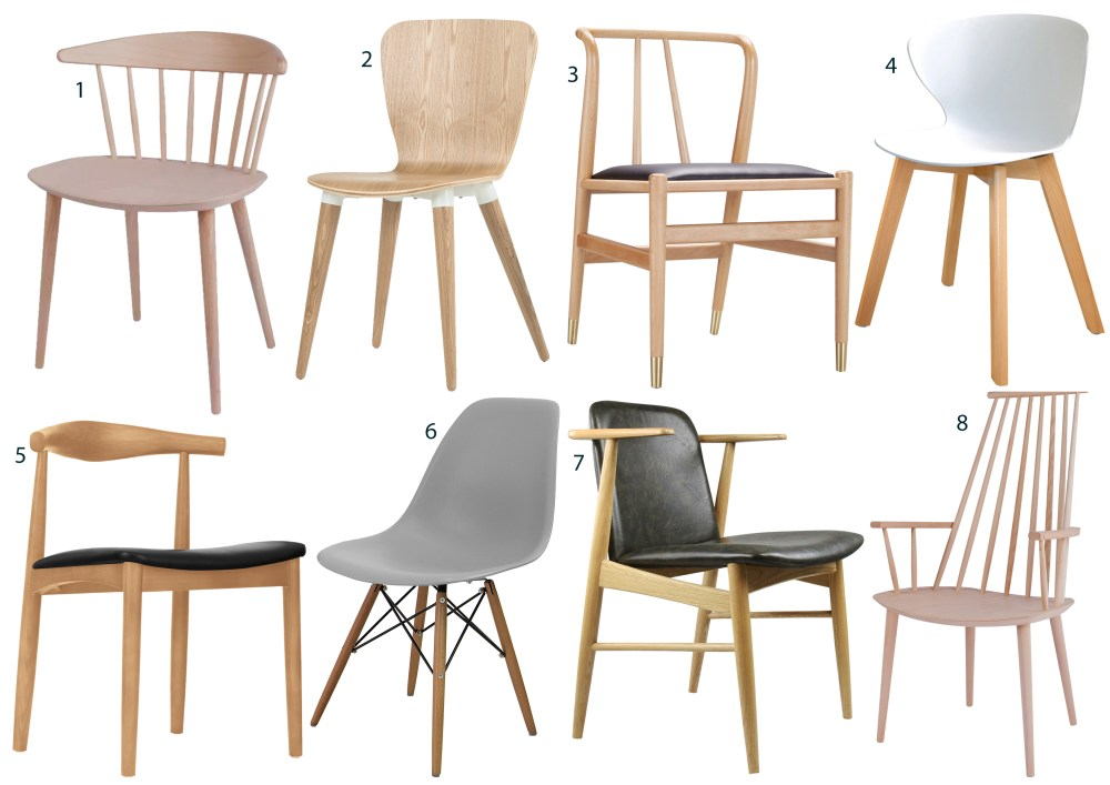 Scandi chairs