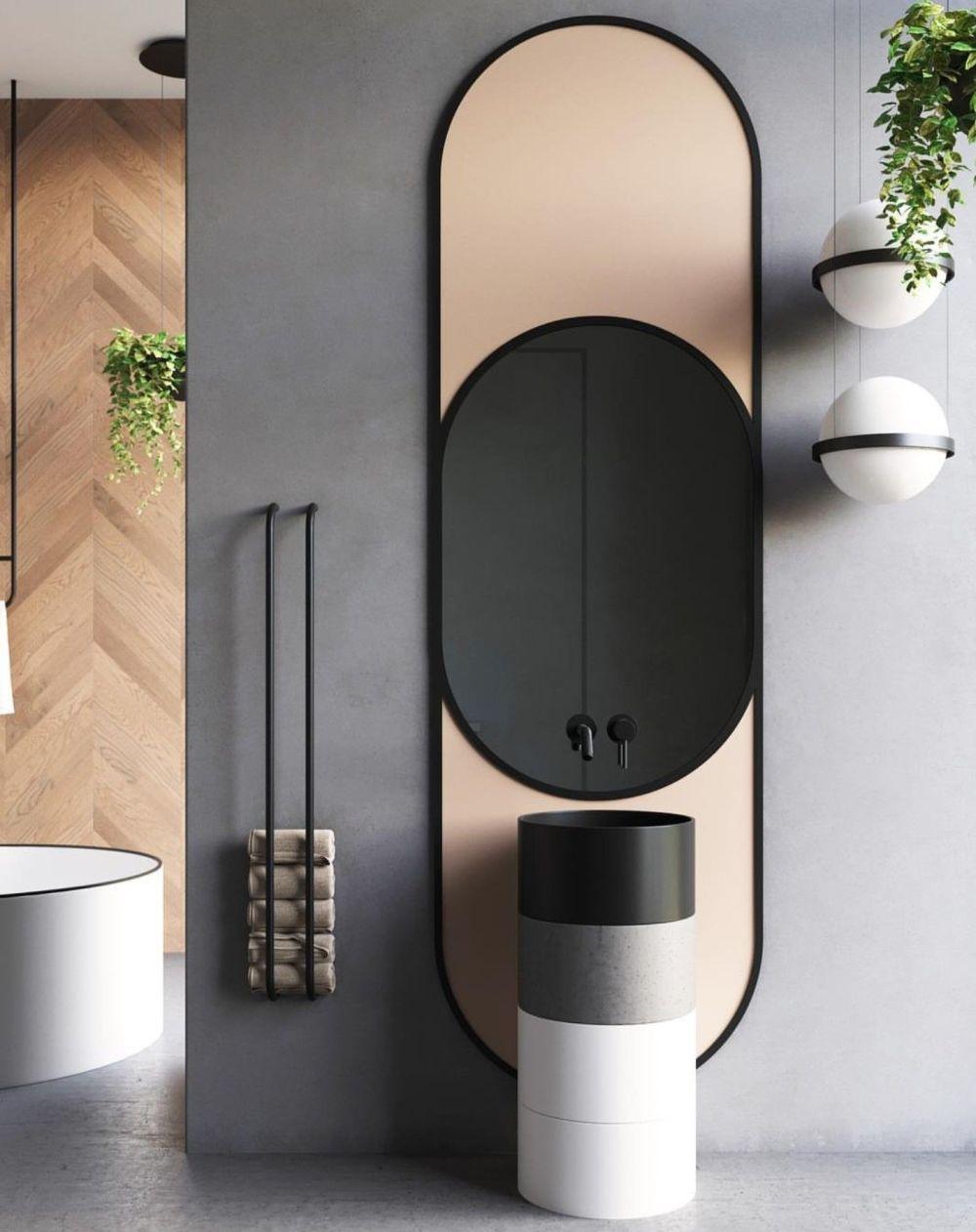 lozenge mirror