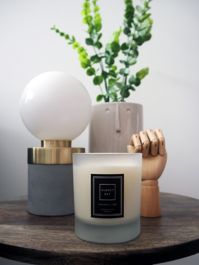 Aubrey Bay Coconut Lime soy candle
