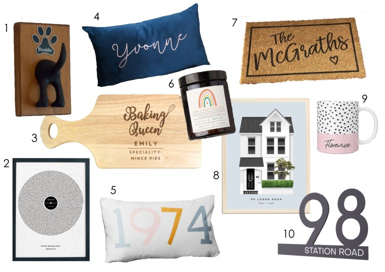 Small business personalised Christmas gift guide