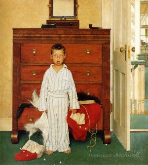 1956 - The Discovery- by Norman Rockwell