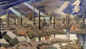 The Menin Road, Paul Nash, 1919 IWM ART 2242