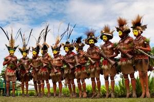 Huli Wigmen, Papua New Guinea