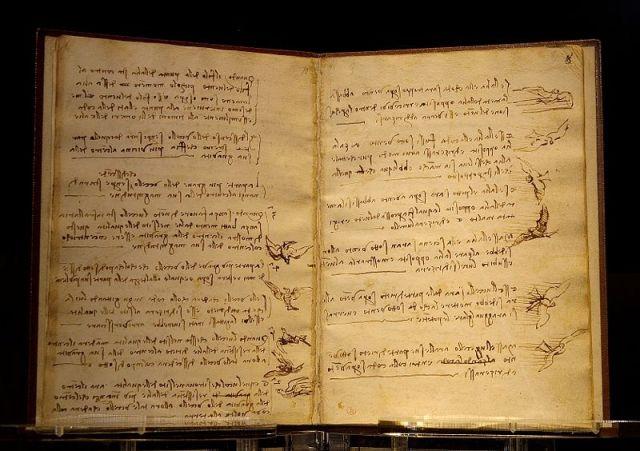800px-Da_Vinci_codex_du_vol_des_oiseaux_Luc_Viatour