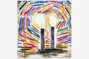 Dos-velas--2013.-Oli-sobre-llen-.-73-x-67-cm