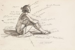 Edward-Hopper-Study-for-Morning-Sun-1952.-Fabricated-chalk-and-graphite-pencil-on-paper