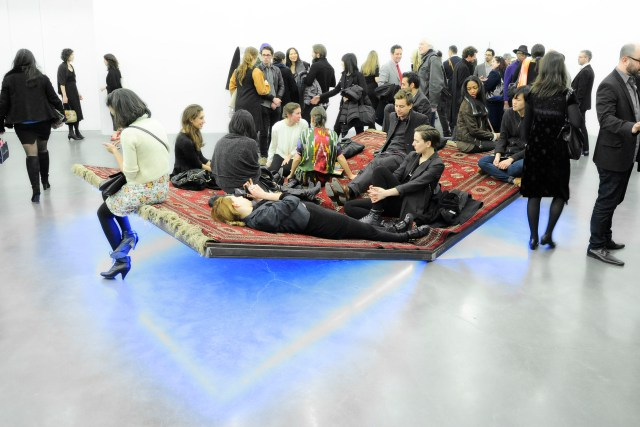 """Opening for """"The Ungovernables"""" 2012 New Museum Triennial sponsored by Joe Fresh with media partner Interview magazine"""