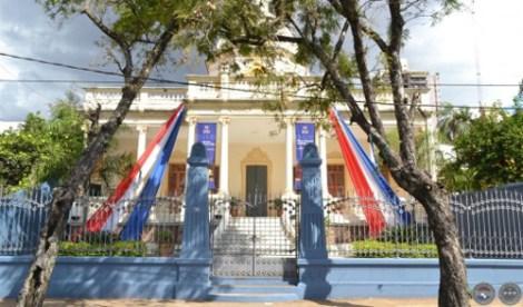 fachada sede museo nacional de bellas artes sc 2011