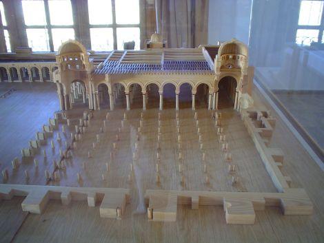 Maquette_en_bois_de_la_Grande_Mosquée_de_Kairouan_au_musée_de_Raqqada