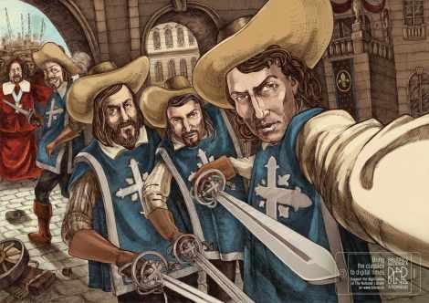 musketeers-selfie_aotw