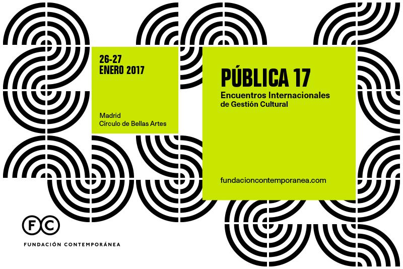 Jornadas «Pública 17» de Fundación Contemporánea