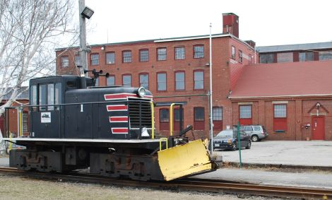 The Maine Narrow Gauge Railroad by 2016 could chug from Portland's eastern waterfront, above, to Gray, where the nonprofit company on Friday will receieve a right-of-way from Central Maine Power Co. for a former railroad bed.