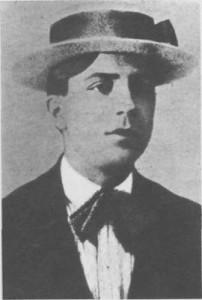 Carlos Gardel en 1908