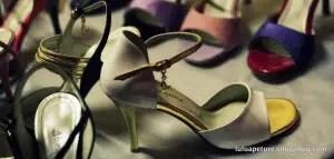 Turquoise shoes - Presentation chaussures de tango femmes