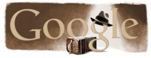 11 décembre - Hommage Google à Carlos Gardel