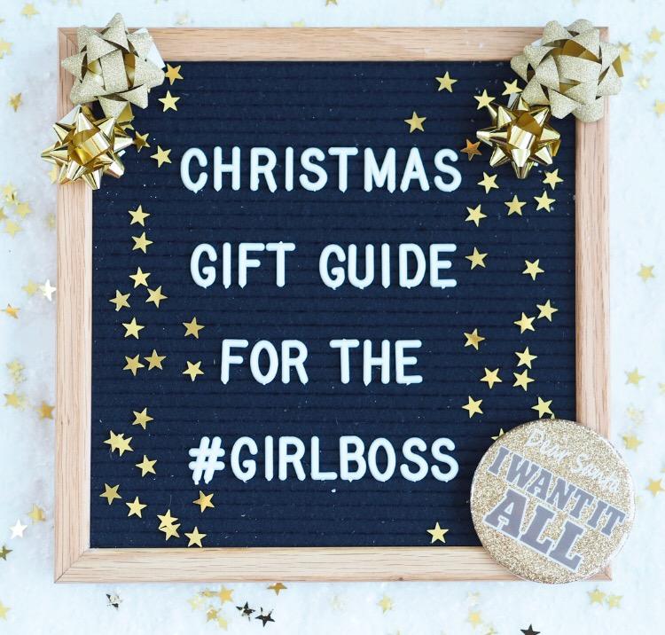 Christmas Gift Guide for The Girl Boss – evenangelsfall
