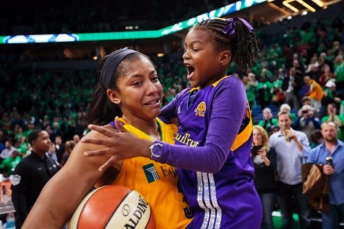 USP WNBA: LOS ANGELES SPARKS AT MINNESOTA LYNX S BKL USA MN