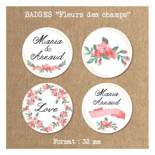 Badge-mariage-Fleurs-des-champs