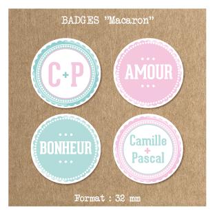 Badge-mariage-Macaron
