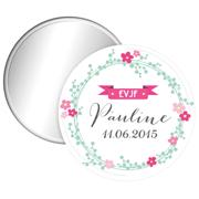miroir-personnalise-evjf-couronne-fleurs