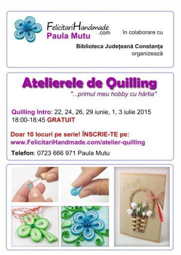 atelier quilling Constanta
