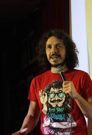 Costel Bojog stand-up comedy