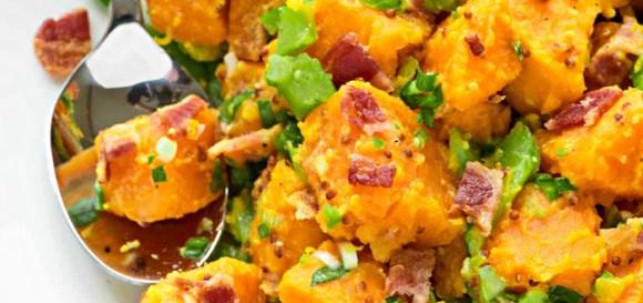 Pentru o masă de Crăciun în stil american: salată SWEET POTATO