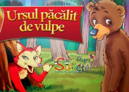 """Spectacol interactiv: """"Ursul păcălit de vulpe"""" la Harlequin Mamaia"""