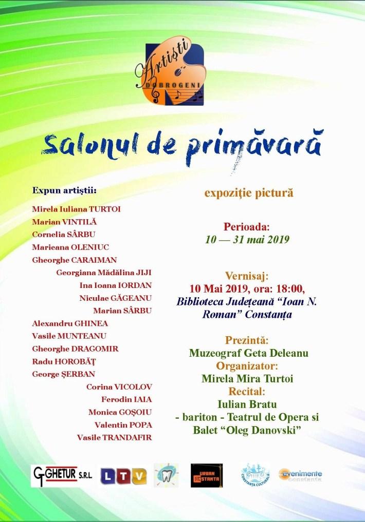 Afis - Salonul de primavara mai 2019