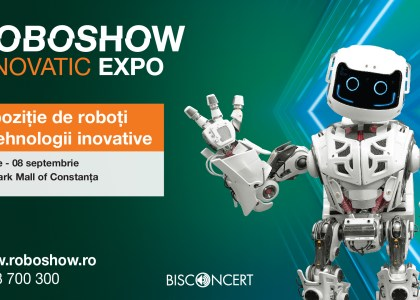 Roboshow Innovatic EXPO la City Park Mall
