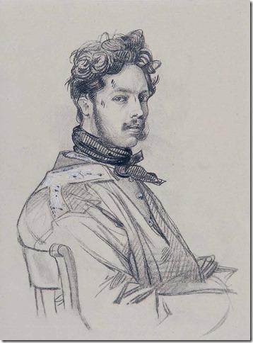 Paul-Gavarni-Autoportret-1825-1830