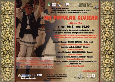 Joc popular Clujean 1 mai 2015