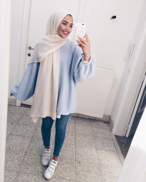 ملابس البنات المحجبات اناقة فى الاختيار بدون موضة الانهيار