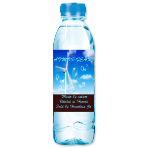 Atmos-fear. Made by nature, bottled in Harold