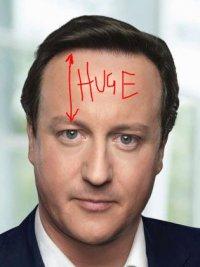 Cameron forehead