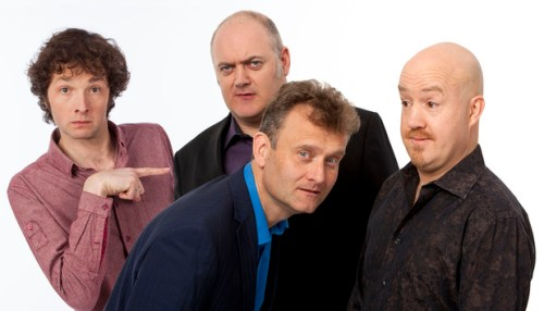 Fingers pointed at Mock The Week