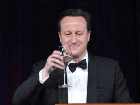 cameron with wine