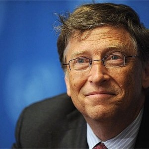 Bill Gates admits he got his haircut from a charity shop