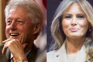 bill and melania