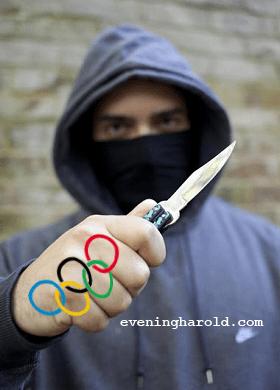 olympic mugger
