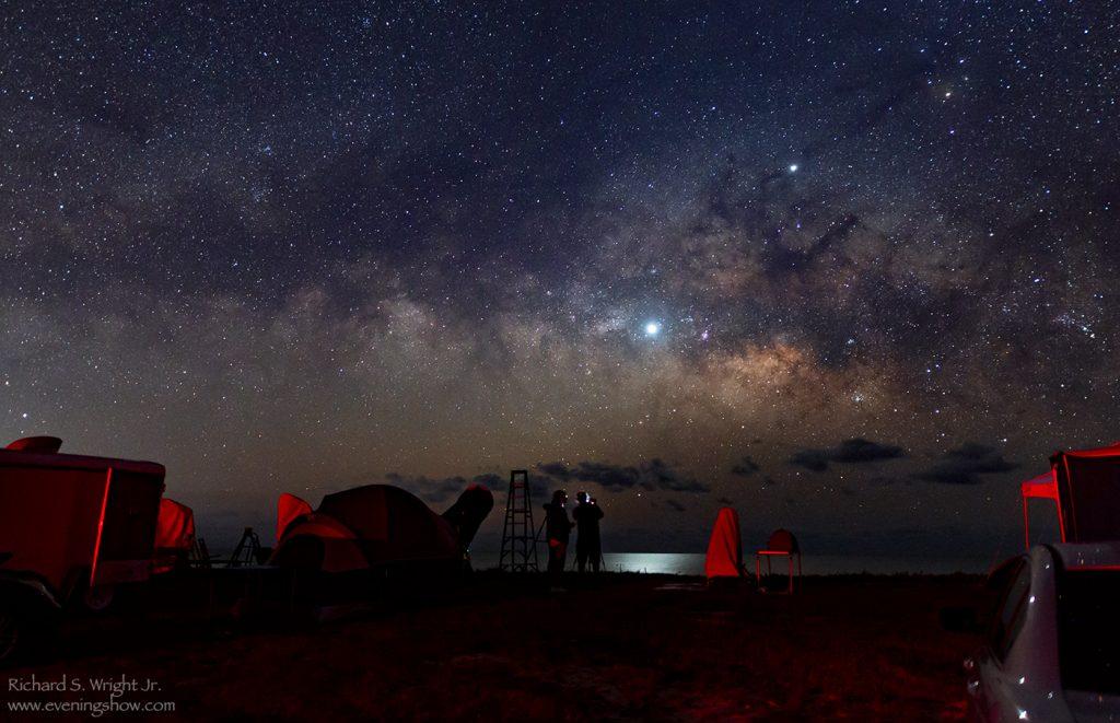 Astrophoto of astrophotograhers