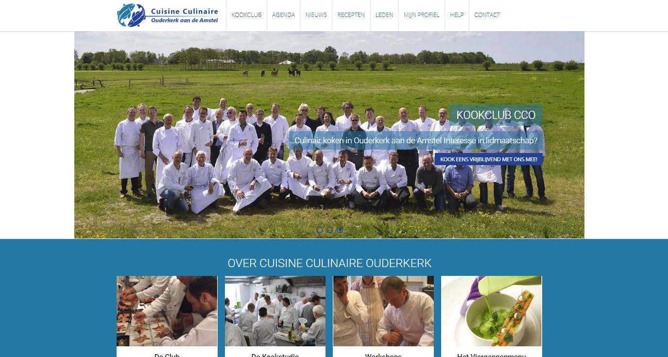Website Kookclub Ouderkerk