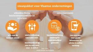 Extra steunpakket van de Vlaamse overheid