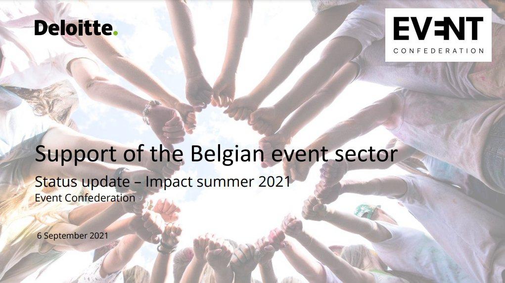Mise à jour : soutien du secteur de l'événementiel - impact été 2021