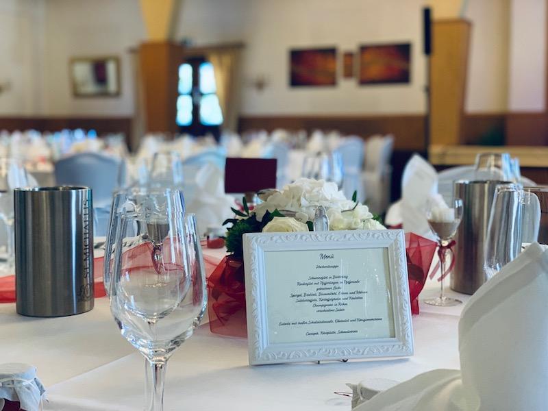 Hochzeit im Saal vom Haus Sander