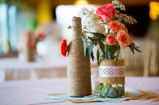 DIY wedding rustic chic vintage