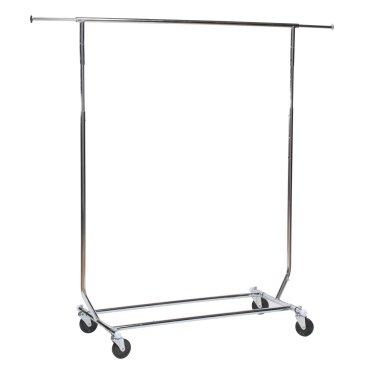 coat rack folding chrome 6 ft