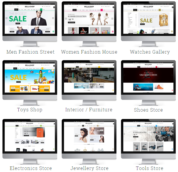 Bella - eCommerce Shop WordPress Theme - 2